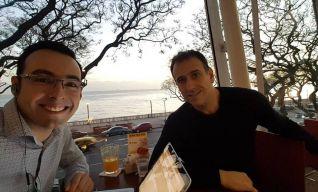 Con Oscar Ronzio, ARG