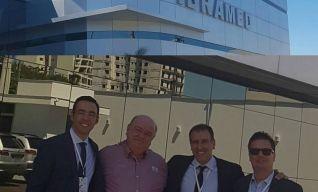 Con Ricardo Souza. Presidente de IBRAMED